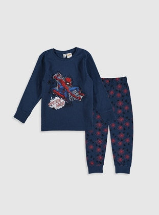 Navy Blue - Boys` Pyjamas - LC WAIKIKI
