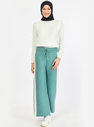 Green Almond - Acrylic - Pants