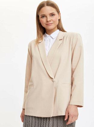 Beige - Coat