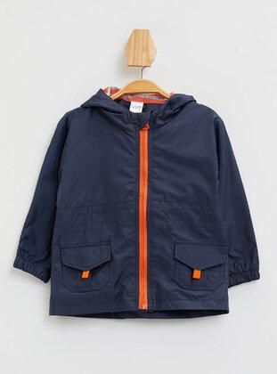 Navy Blue - Baby Jacket