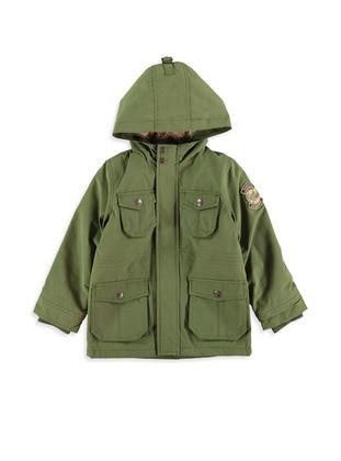 Green - Boys` Coat
