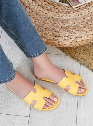 Yellow - Sandal - Slippers - Snox