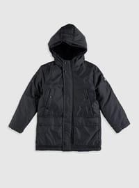 Anthracite - Boys` Coat