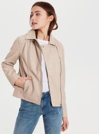 Ecru - Puffer Jackets