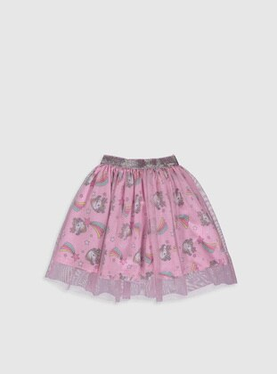 Pink - Girls` Skirt - LC WAIKIKI