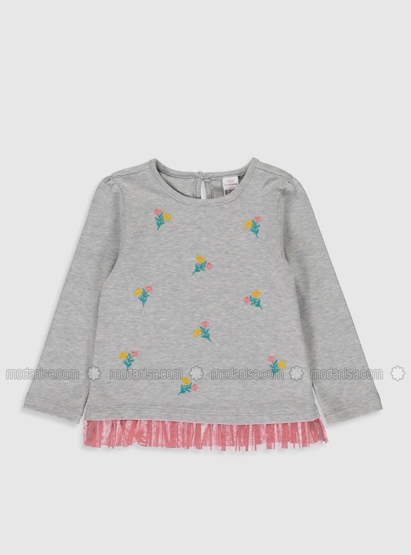 Gray - baby t-shirts