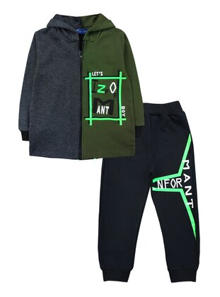 - Green - Boys` Suit