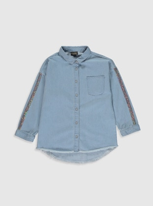 Indigo - Girls` Shirt