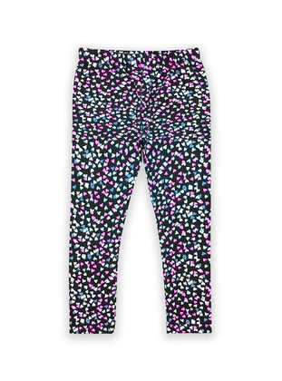 Multi -  - Multi - Black - Girls` Leggings