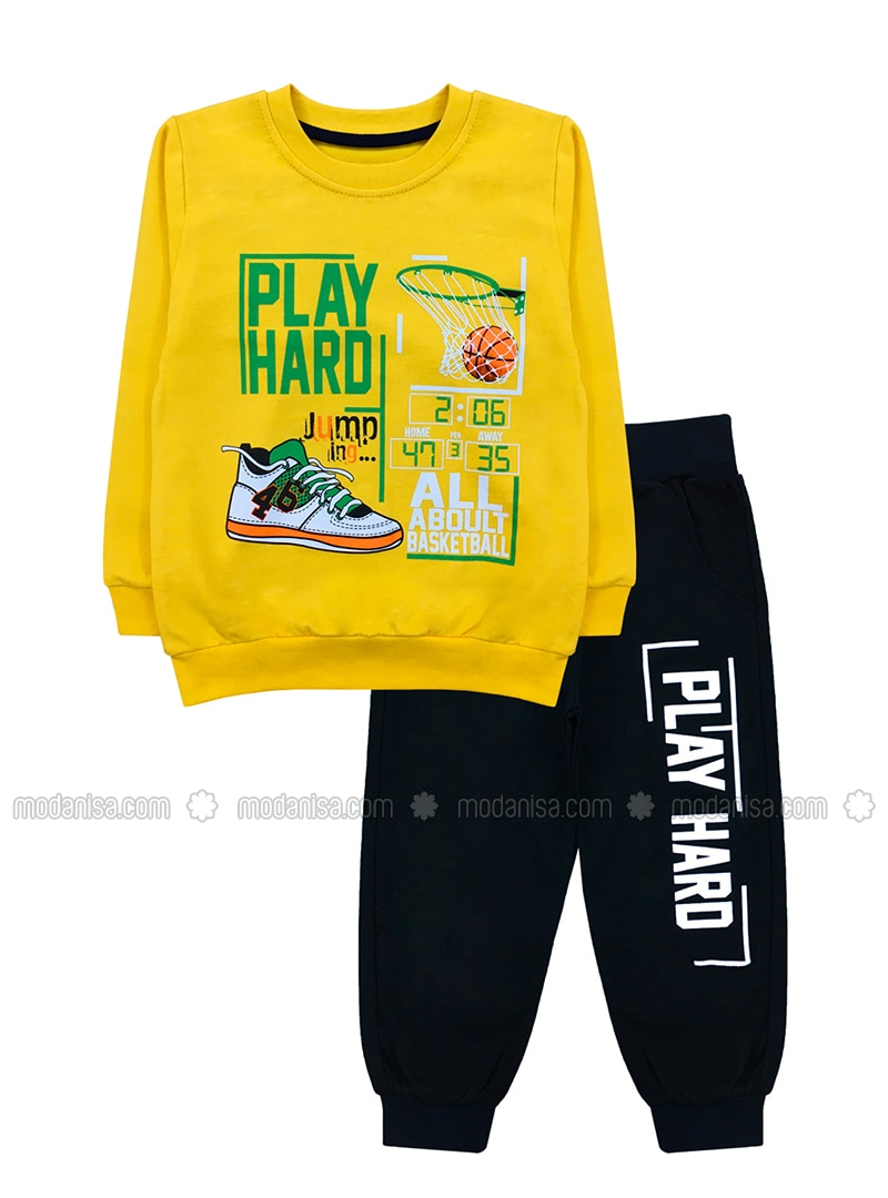 - Yellow - Boys` Suit