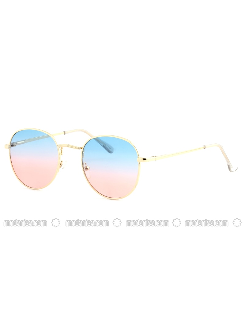 Gold - Red - Blue - Sunglasses