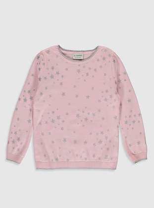 Pink - Girls` Pullovers - LC WAIKIKI