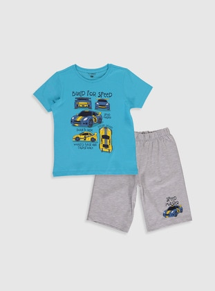 Gray - Boys` Pyjamas - LC WAIKIKI