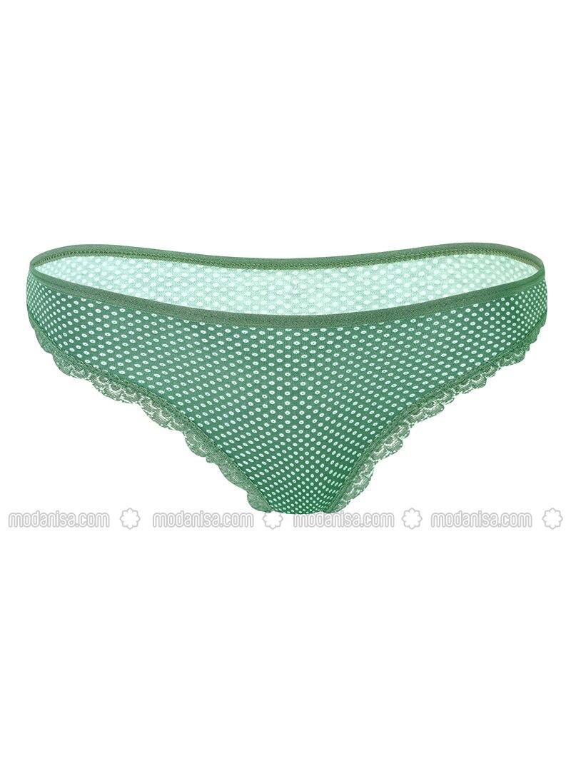 Green - - Panties