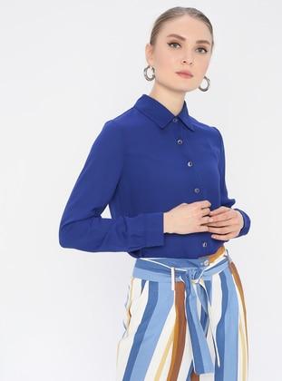 Saxe - Point Collar - Blouses