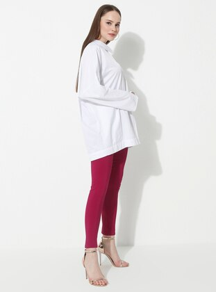 Fuchsia - Viscose - Pants