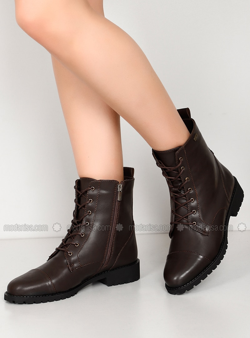 Brown - Boot - Boots