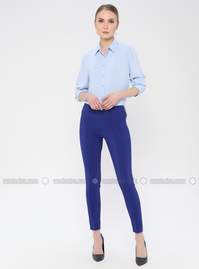 Saxe - Viscose - Pants
