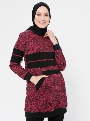 Fuchsia - Multi -  - Tunic