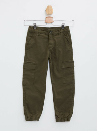 Green - Girls` Pants