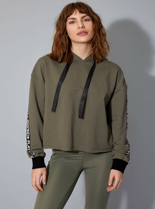 Green - Tracksuit Top
