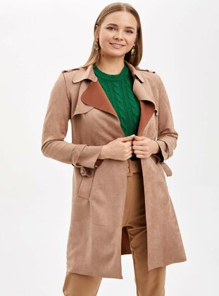 Brown - Trench Coat