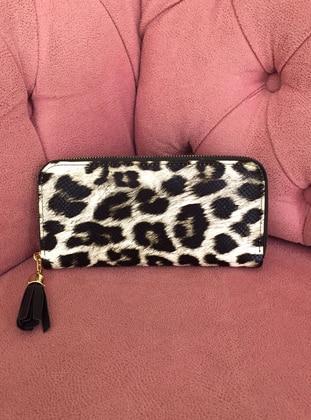 Leopard - Black - Wallet