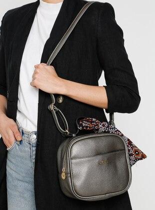 Bronze - Satchel - Shoulder Bags - İcone