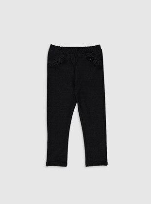 Black - baby tights
