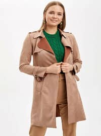 Brown - Trench Coat