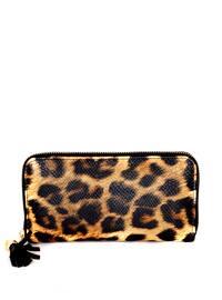 Leopard - Tan - Wallet