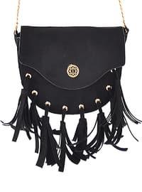 Black - Satchel - Shoulder Bags - İcone