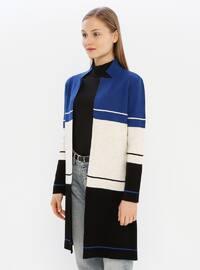 Saxe - Multi - Acrylic -  - Knit Cardigans