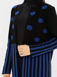 Black - Multi - Acrylic -  - Cardigan