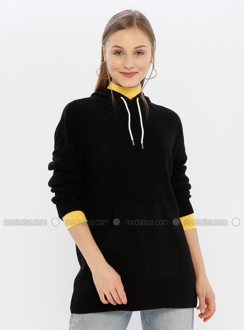 Black - Acrylic -  - Jumper