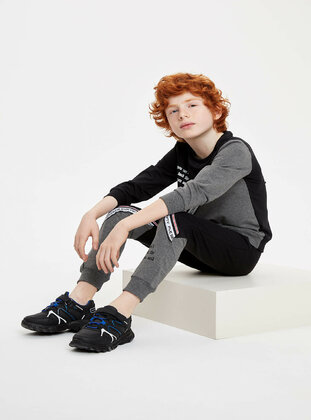 Anthracite - Boys` Suit