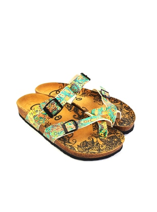 Multi - Sandal - Slippers - Calceo