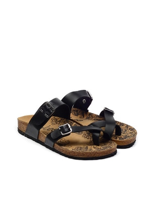 Black - Sandal - Slippers - Calceo