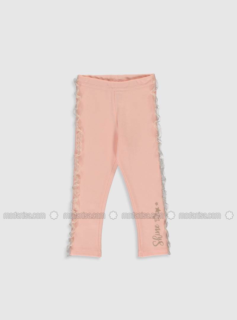 Pink - baby tights