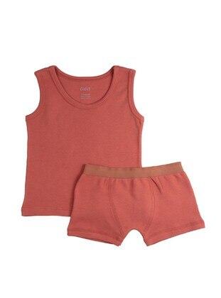 Terra Cotta - Baby Underwear