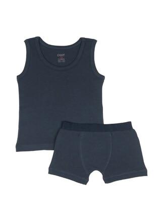 Navy Blue - Baby Underwear