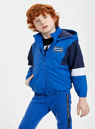 Blue - Boys` Jacket