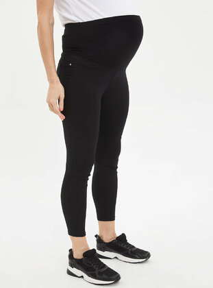 Black - Maternity Pants - DeFacto