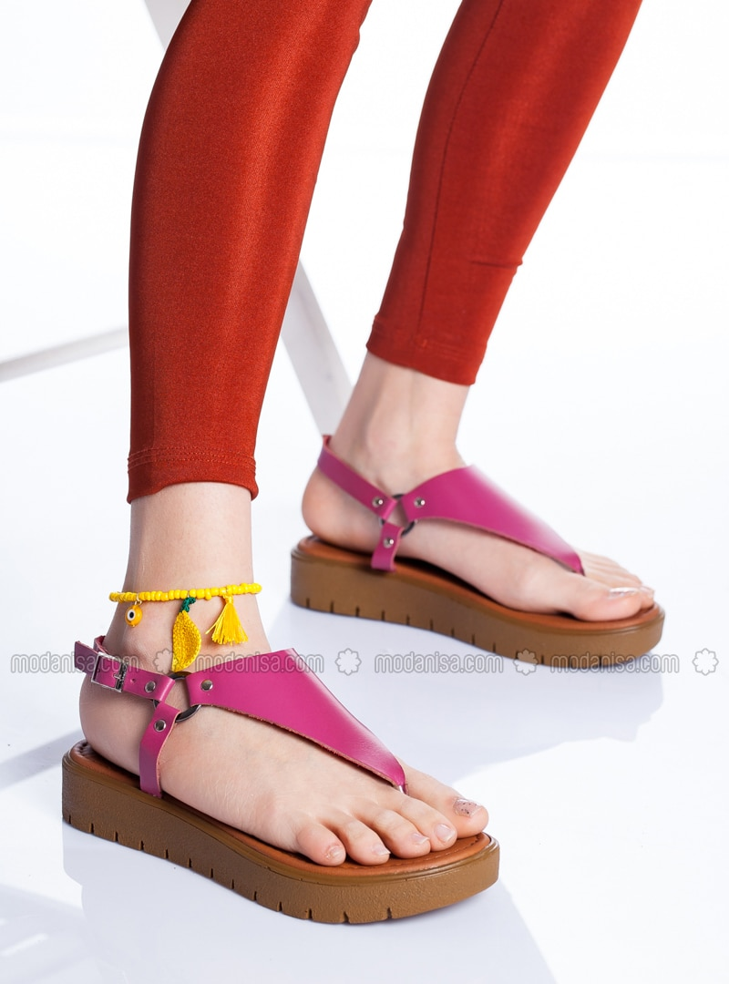 Fuchsia - Sandal - Sandal