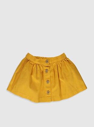 Orange - Baby Skirt