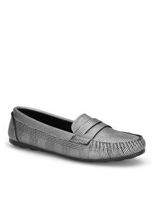 Gray - Flat Shoes