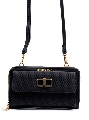 Black - Satchel - Wallet