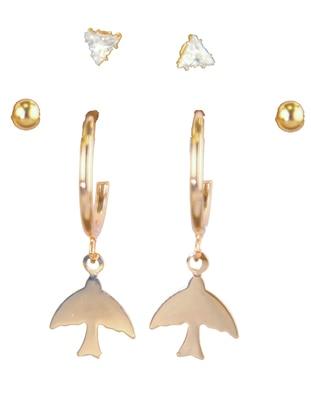 Gold - Rose - Earring