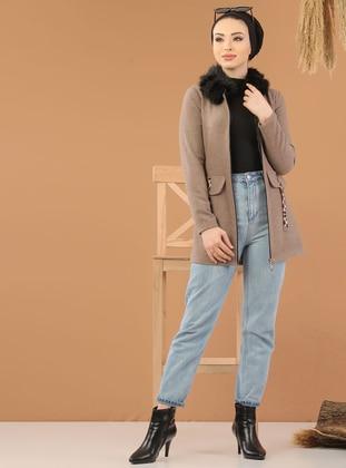 Mink - Unlined - Point Collar -  - Jacket