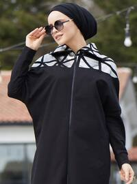 Saxe - Black -  - Polo neck - Tracksuit Set